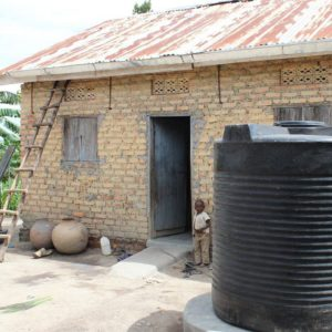 home with water tank